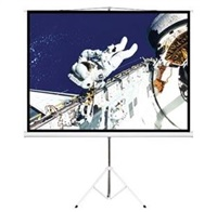 Product Image of Brateck Brateck 65' (1.45m x 0.81m) Tripod Portable Projector Screen (16:9 ratio) Black