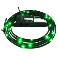 Product Image of NZXT NZXT SLEEVE LED CABLE 200CM GREEN