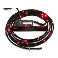 Product Image of NZXT NZXT SLEEVE LED CABLE 100CM RED