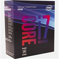 Product Image of Intel Core i7-8700K 3.7Ghz No Fan Unlocked s1151 Coffee Lake 8th Generation Boxed