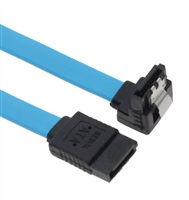 Product Image of Astrotek SATA 3.0 Data Cable 50cm Male to Male 180 to 90 Degree with Metal Lock 26AWG