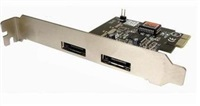 Product Image of Skymaster E3132 eSATA PCI-E CARD (x2 Ext)