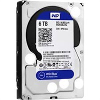 Product Image of Western Digital Blue 6 TB 3.5 inch PC Hard Drive WD60EZRZ