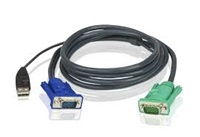 Product Image of ATEN 3m USB KVM Cable to suit CS8xU, CS174x, CS13xx, CS17xxA, CS17xxi CL5xxx, CL58xx