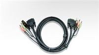 Product Image of ATEN DVI-D Dual Link USB KVM Cable with Audio 3M (2L-7D03UD)
