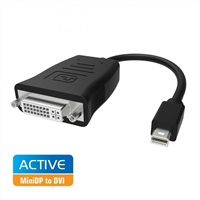 Product Image of Simplecom DA102 Active MiniDP to DVI Adapter 4K UHD (Thunderbolt and Eyefinity Compatible)