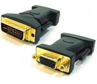 Product Image of Astrotek DVI to VGA Adapter Converter 24+5 pins Male to 15 pins Female Gold Plated