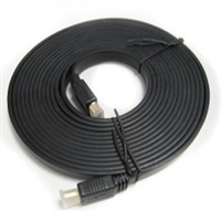 Product Image of Generic High Speed HDMI Flat Cable Male to Male 2m