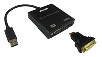 Product Image of Volans USB3.0 to VGA/HDMI Display Converter (U3VH)