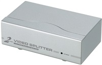 Product Image of ATEN Aten 2 Port Video Splitter 350Mhz 1920x1440 at 60Hz Up to 65m