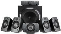 Product Image of Logitech Z906 5.1 Speaker System - 500 watts (RMS), digital recording, digital and analog inputs, wireless remote, surround sound with 3D stereo