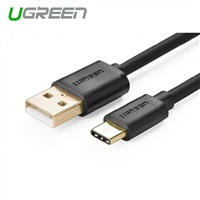 Product Image of UGreen USB 2.0 Type A Male to USB 3.1 Type-C Male Charge & Sync Cable White 1M