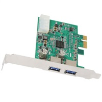 Product Image of SupperSpeed USB 3.0 PCI Express Card (2-Port) for Desktop